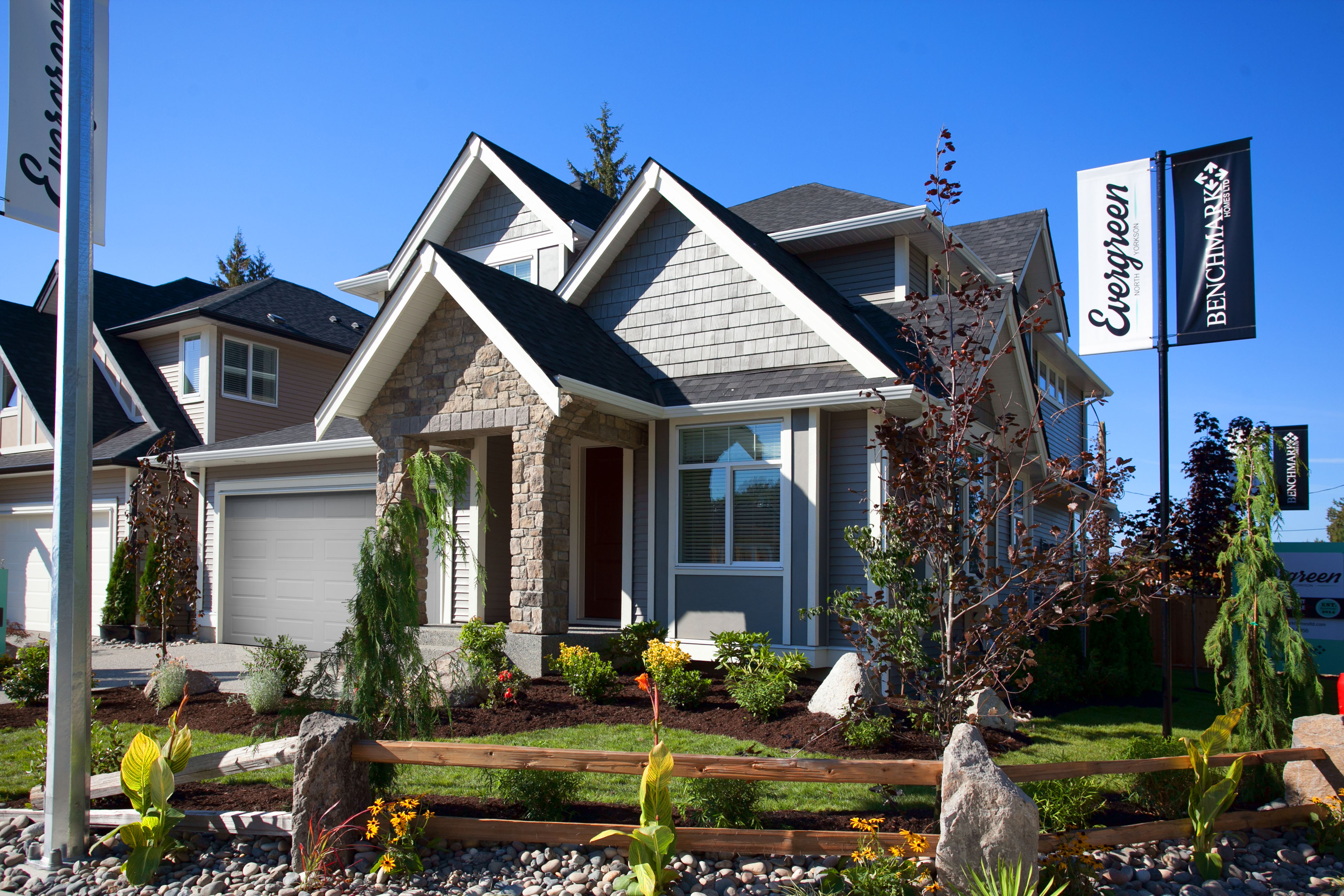 Sponsored evergreen show home opens in yorkson area of for Langley home