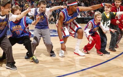Win 4 tickets to see the Harlem Globetrotters in Abbotsford