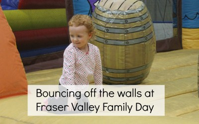 Bouncing off the walls at Fraser Valley Family Day