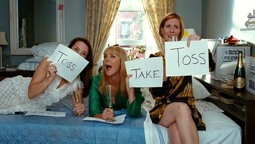 take or toss