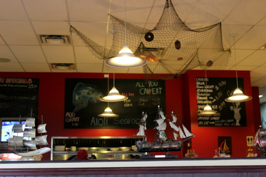 Aioli Seafood Restaurant in Parksville