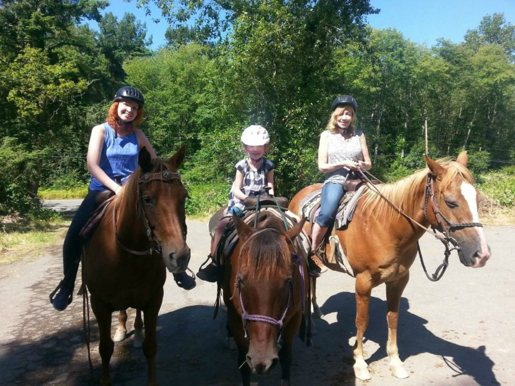 Langley horseback riding